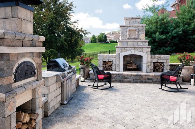 Outdoor Living South Alabama Brick, General Shale Fireplace Kit