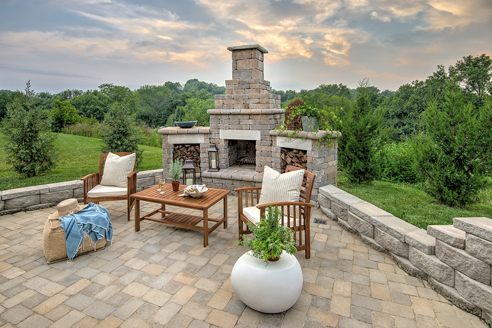General Shale Outdoor Living South, General Shale Fireplace Kit