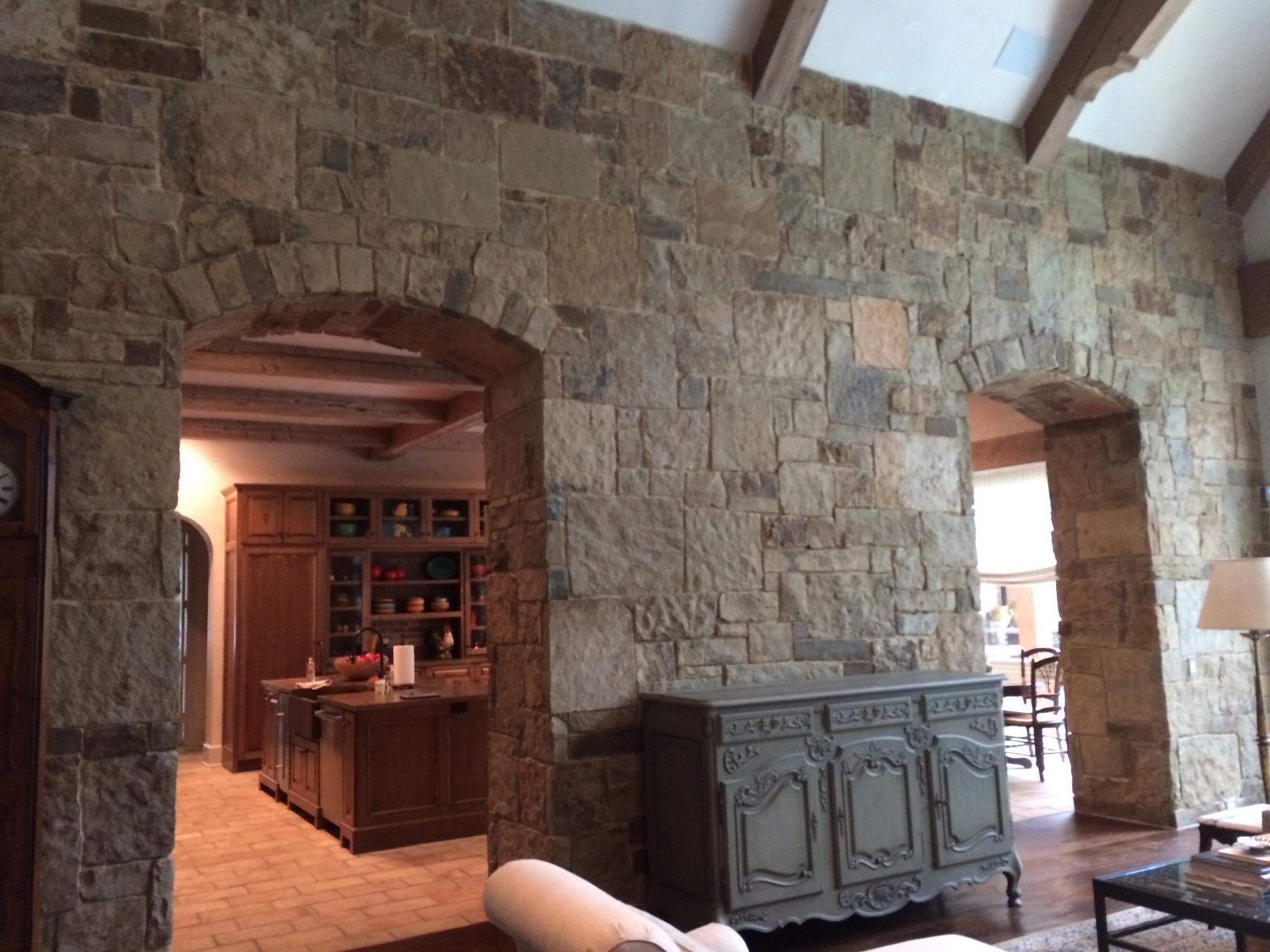 Natural Stone Interior Wall South Alabama Brick Company