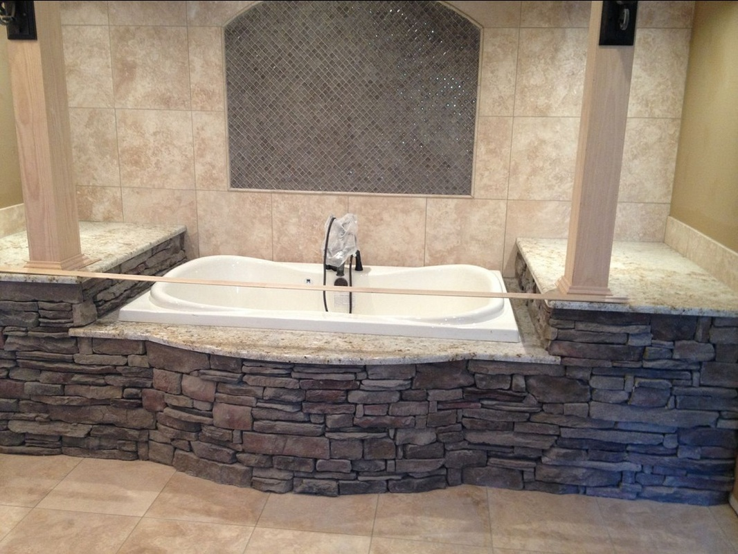 Stone Interiors - Tub Surround - South Alabama Brick Company