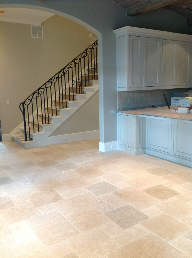 Palladian Grey natural stone interior flooring